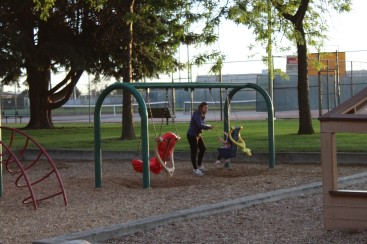Picnicking in McCosh Park