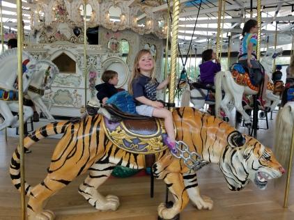 Looff Carousel in Spokane, WA