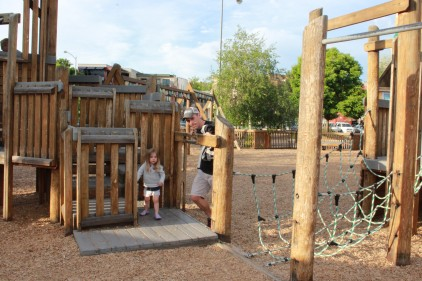 Dragon Hollow playground in Missoula, MT
